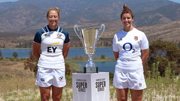 Women's Super Series: England vs USA