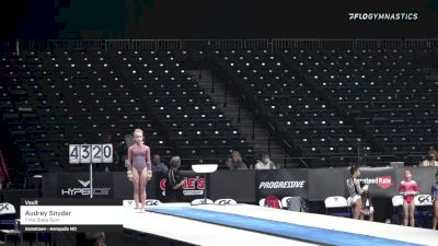 Audrey Snyder - Vault, First State Gym - 2021 GK US Classic & Hopes Championship