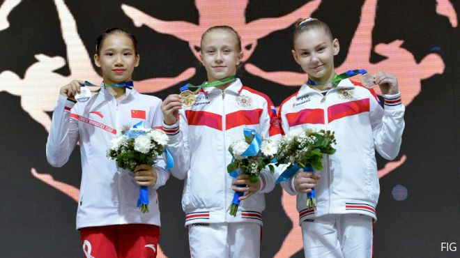 Russia Dominates Inaugural FIG Junior World Championships