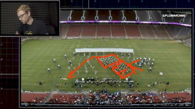 "Blue Devils' ""Ghostlight"" Block Rotations Are Impressive"