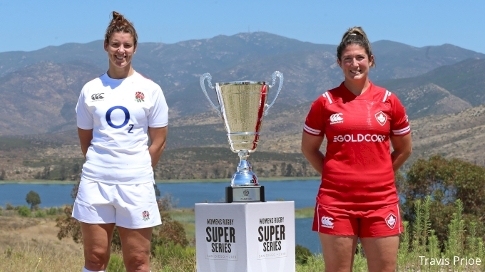 Women's Super Series: Canada vs England