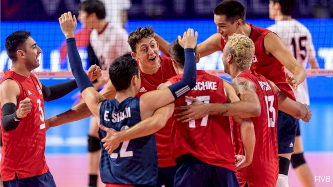 VNL Men's Final Round Rosters Released
