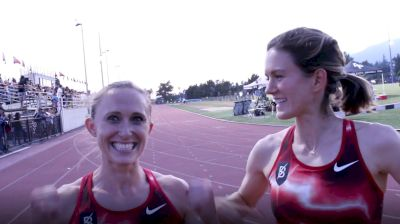 Kate Grace and Shelby Houlihan Thrilled With 1:59s At Sunset