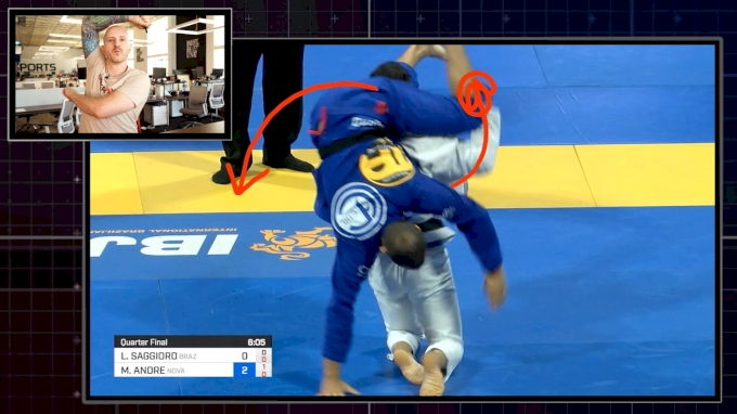 Saggioro's Unstoppable Half Guard Sweep