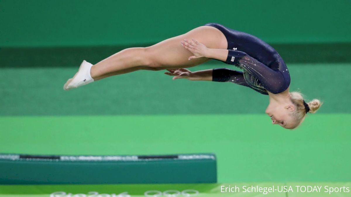 Nicole Ahsinger trampoline usa