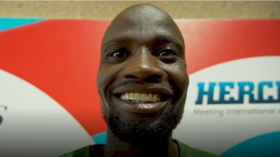 Nijel Amos Breaks Down 'Impossible Possible' Workout That Let Him Know He Could Run 1:41.89