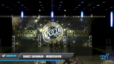Dance Savannah - Misbeehavin [2021 Junior - Variety Day 2] 2021 Groove Dance Nationals