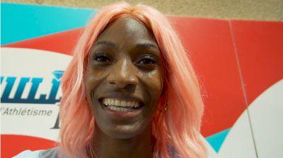 Shaunae Miller-Uibo Describes Her Favorite Workout