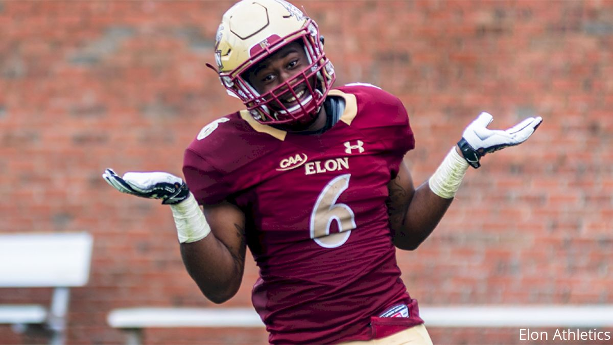 Elon's Jaylan Thomas Lights Up A Room--And Opposing Defenses