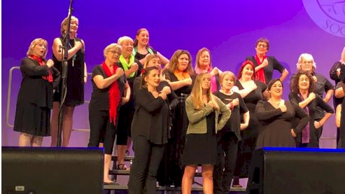 Barbershop Winner 2019 Sweet Adelines Zero8