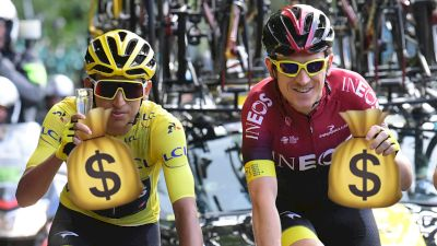 2019 Tour de France Prize Money Breakdown