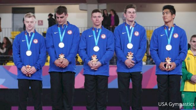Silver For The USA Men At Pan American Games