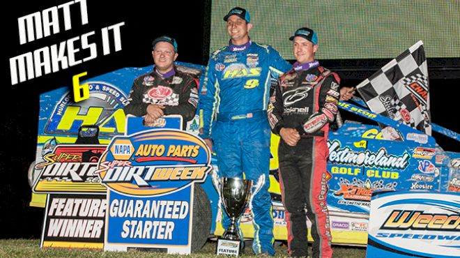 Sheppard Flexes Muscle with 6th Win