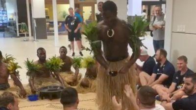 Long Flight, Huge Welcome; Eagles To Fiji