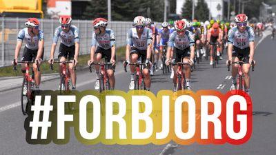 Tour Of Poland Peloton Pays Tribute To Bjorg Lambrecht