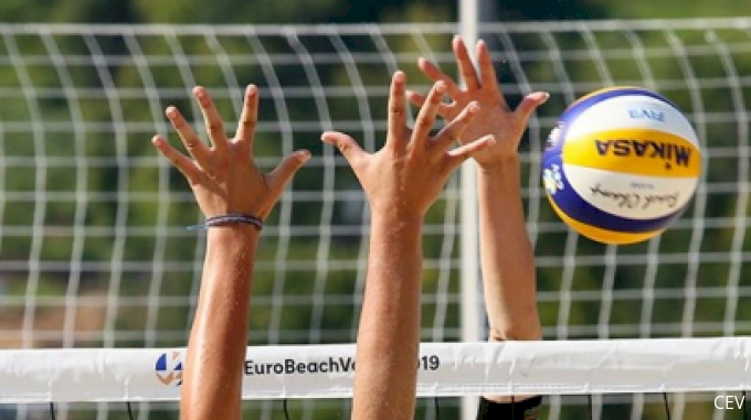 picture of 2019 CEV Beach Volleyball European Final and Masters Women's Semifinal 2
