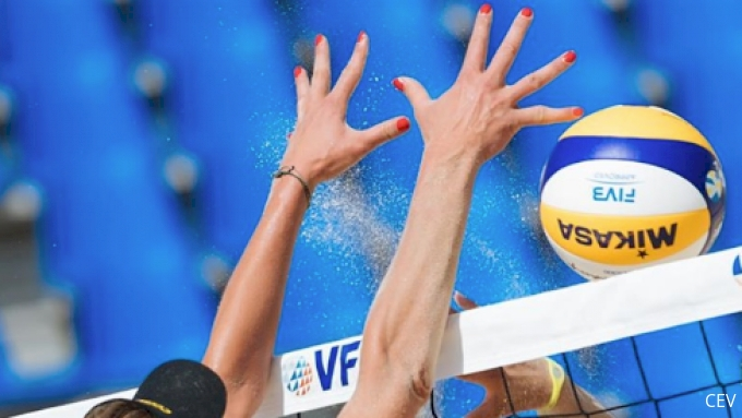 picture of 2019 CEV Beach Volleyball European Final and Masters Women's Semifinal 1