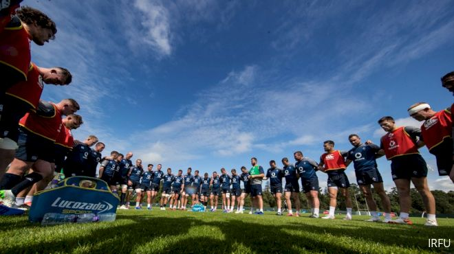 Farrell In Charge As Ireland Gear Up For Italy Test
