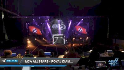 MCA Allstars - Royal Diamonds [2019 Senior - D2 3 Day 2] 2019 US Finals Pensacola