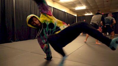 Geo Martinez Breakdancing Warmup