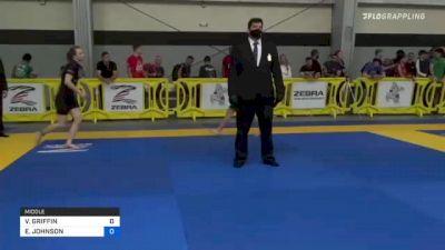 VANESSA GRIFFIN vs ERIN JOHNSON 2021 Pan IBJJF Jiu-Jitsu No-Gi Championship