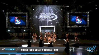 World Tour Cheer & Tumble - Rio [2021 L1.1 Youth - PREP - D2 - A Day 1] 2021 The U.S. Finals: Louisville