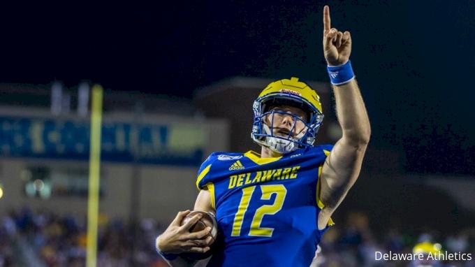 HIGHLIGHTS: Blue Hens Dominate Delaware St.