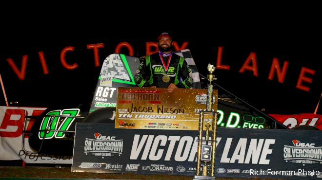 Wilson Wheels to First Silver Crown Win in Du Quoin