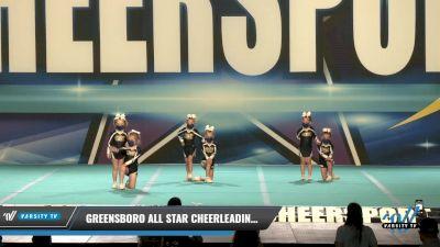 Greensboro All Star Cheerleading - Starlites [2021 L1 Tiny - Novice - Restrictions Day 1] 2021 CHEERSPORT: Charlotte Grand Championship