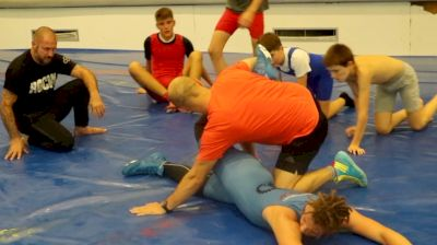 The Flo Crew Works Out At A Local Youth Club In Zagreb