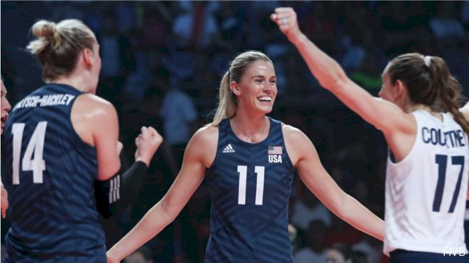 Team USA Women Set For FIVB World Cup