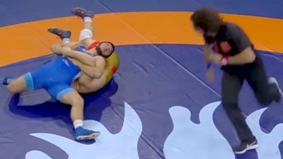 Behind The Dirt, Sadulaev Gold Medal Single Leg Finish