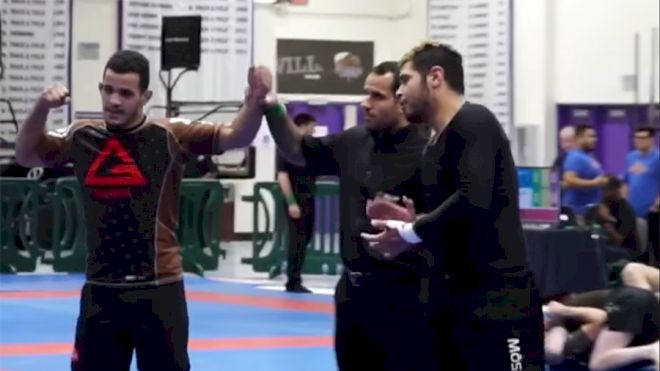 Everybody Gets Tapped! Brown Belt Shootout at 2019 IBJJF No-Gi Pans