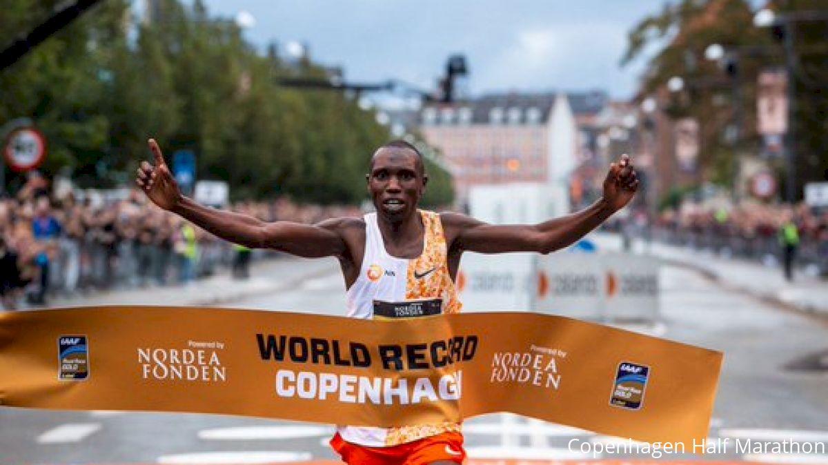 Geoffrey Kamworor Smashes Half Marathon WR With 58:01