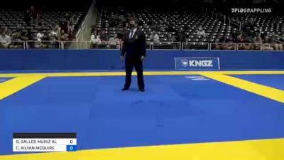 GABRIEL SALLES MUNIZ ALMEIDA vs CHARLES KILYAN MCGUIRE 2021 World IBJJF Jiu-Jitsu No-Gi Championship
