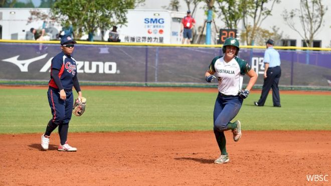 Australia Opens WBSC Qualifier With A Bang Against Chinese Taipei