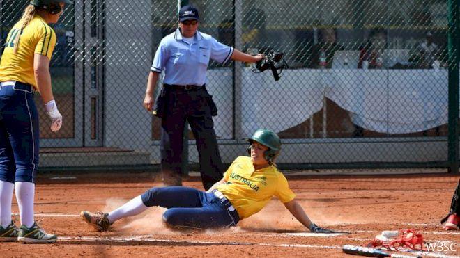 Australia Run-Rules Indonesia At WBSC Softball Qualifier