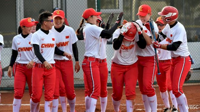 Grand Slam Lifts China Over Philippines At WBSC Softball Qualifier