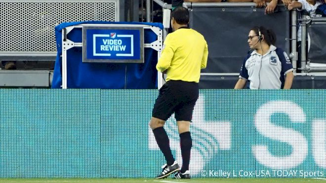 Video Review System In Major League Soccer Still Causing Occasional Issues
