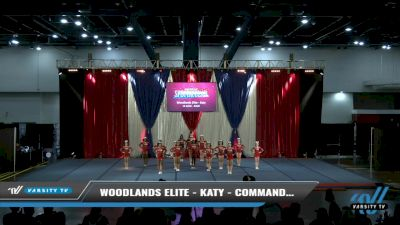 Woodlands Elite - Katy - Commanders [2021 L4 Junior - Small Day 2] 2021 The American Spectacular DI & DII