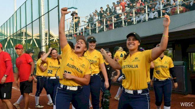 Australia Qualified For 2020 Tokyo Olympics For Softball