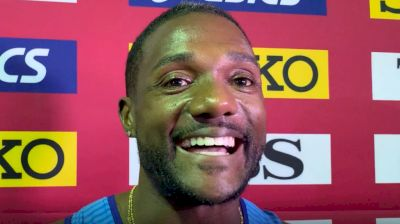Justin Gatlin Earns Eighth 100m Medal With Silver In Doha