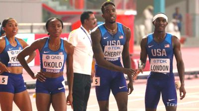 Team USA Ready To Get Paid After Mixed 4x4 Gold And World Record