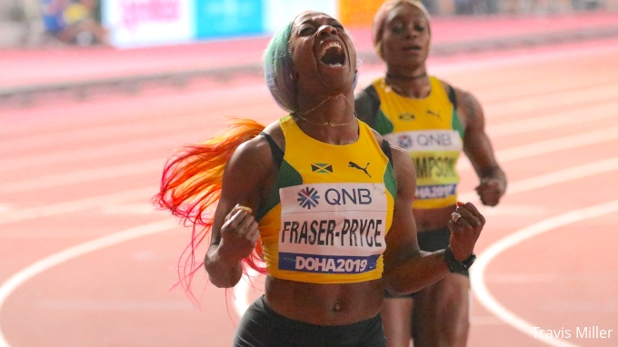 picture of Shelly-Ann Fraser-Pryce