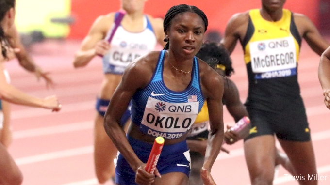picture of Courtney Okolo