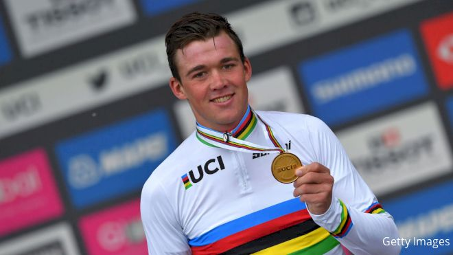 Pedersen To Race In Rainbow Jersey In Belgium On Saturday