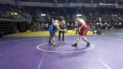 288 lbs Prelims - Michael Clark, Rolla Wresling Club vs Jeremiah Presson, Arkansas