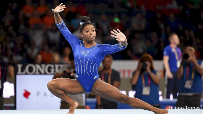 Worlds Watch: Gymnasts Bring Power & Performance On Floor