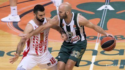 REPLAY: Panathinaikos BC vs KK Crvena zvezda