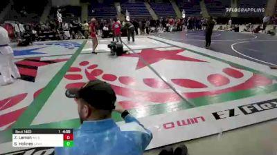 Zach Lemon vs Shelton Holmes 2021 F2W Colorado Open - EVENT